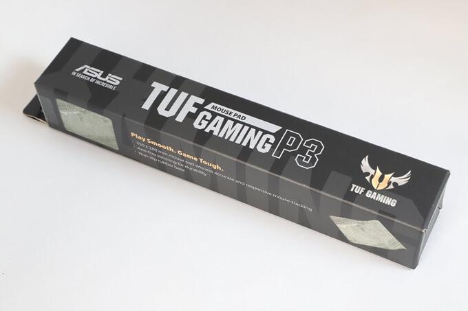 TUF Gaming P3のパッケージ