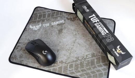 【TUF Gaming P3 レビュー】ASUSのゲーミングマウスパッドなんてFPSで使えるのか?