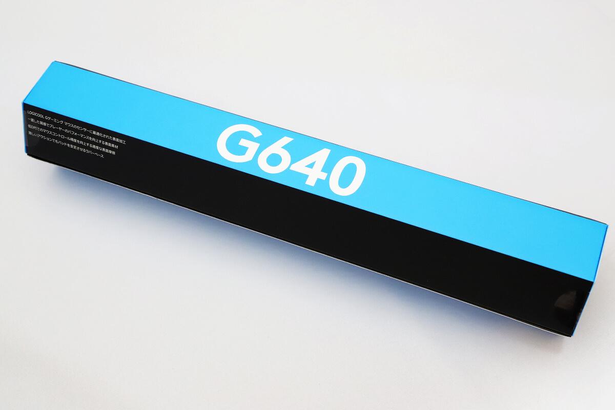 G640rの開封レビュー