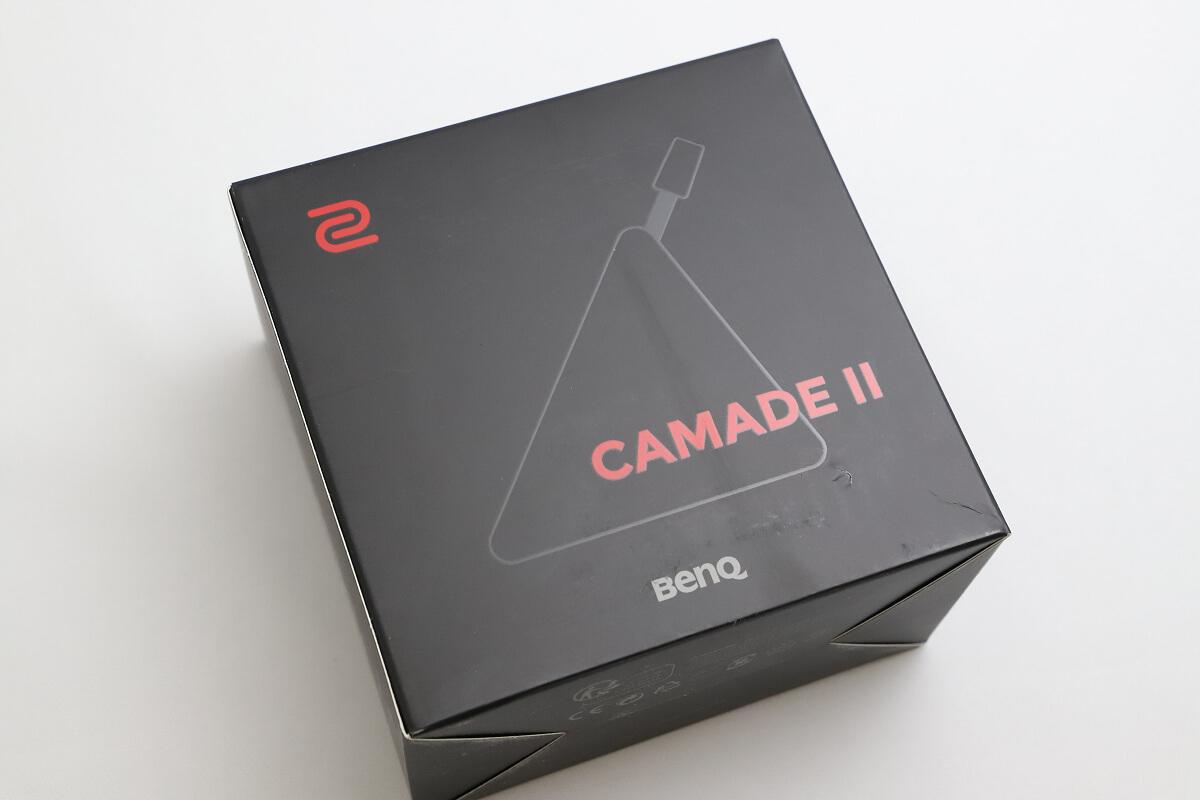 BenQ CAMADEⅡのパッケージ